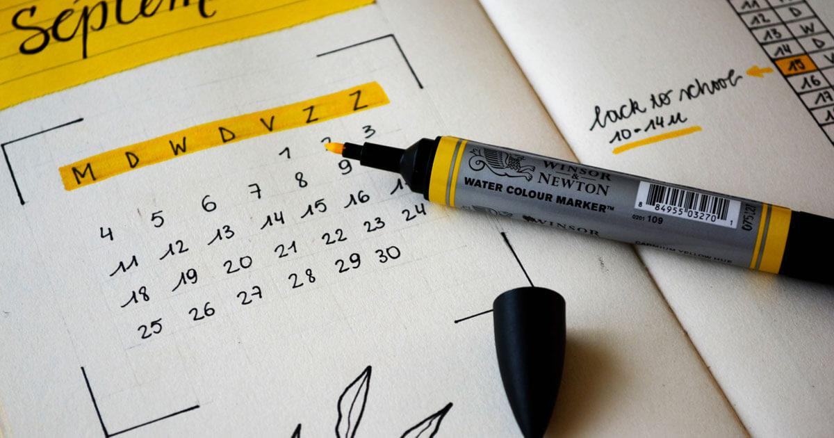 content planning kalender